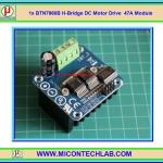 1x BT์N7960 H-Bridge DC Motor Drive (6-27V 47A Max) Module