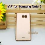 Case Samsung Note 5 สีทอง ยี่ห้อ Wemax