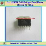1x L298N Full-Bridge Dual Motor Driver L298 IC Chip