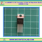 1x LM2596T-3.3 DC Converter +3.3Vdc 3A Step-down (Buck) LM2596 IC Chip