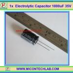1x Electrolytic Capacitor 1000uF 35V (คาปาซิเตอร์)