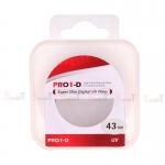 JYC Pro 1 D Super Slim UV fiter 43mm