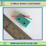 1x Micro Switch Limit Switch (ไมโครสวิตซ์ ลิมิตสวิตซ์ สีเขียว)