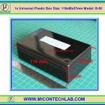 1x Model: B-00 Plastic Box Size:116x66x37mm