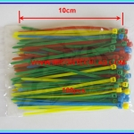 1x Cable Tie 10cm 100pcs 4 colors