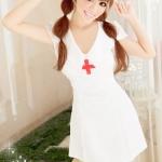 Pre Order / ชุดนอนของแพทย์พยาบาลชุดเซ็กซี่ชุดชั้นในเซ็กซี่ (ไม่มีถุงน่อง)