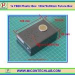 1x FB28 Plastic Box 105x70x39mm Future Box