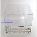 กล่องคัพเค้ก มาการอง 5.5 x 5.5 x 4.8 cm