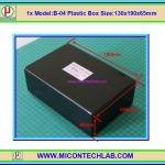 1x Model:B-04 Plastic Box 130x190x65mm