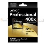 Memory CF Lexar Professional 32GB 400X