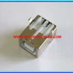 USB Female Type-B 4 Pins Socket (PTH)
