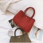 กระเป๋าสตางค์ H E R M E S garden party สีแดง
