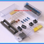 1x ATMEGA328P-PU with Arduino UNO R3 Bootloader + Complete Kit
