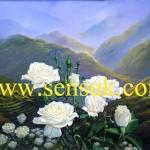 ดอกกุหลาบขาว(ขายดีมากสั่งทำใหม่ได้)