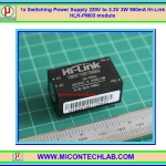 1x Switching Power Supply 220V to 3.3V 3W 900mA Hi-Link HLK-PM03 module