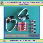 1x Infrared Photo Line Tracking 4 channel Robot Car Sensor Module