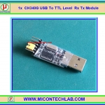1x CH340G USB 2.0 to TTL UART Serial CH340 USB to TTL Level Module with Plastic cover