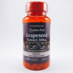 Puritan's Pride, Grapeseed Extract 200 mg, 120 Capsules