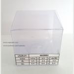กล่องเทียนหอม ขนาด 6.4 x 6.4 x 6.4 cm