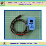 1x SCT-013-010 Current Transformer CT 0-10A to 0-1V Split Core Current Transformer