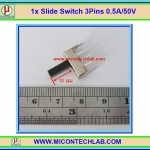 1x Slide Switch MicroSwitch 3Pins 0.5A/50V