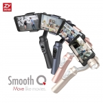 Zhiyun Smooth-Q 3-Axis Handheld Gimbal Stabilizer for Smartphone Like IPhone 7 Plus 6 Plus Samsung Galaxy S7 S6 S5 Wireless Control Vertical Shooting Panorama Mode (Black)