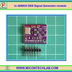 1x AD9833 DDS Signal Generator module