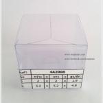 กล่องเทียนหอม ขนาด 5.2 x 5.2 x 4.8 cm