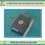 1x FB03 Plastic Box 69x105x39 mm Future Box