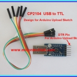 1x New USB to UART/TTL Level (CP2104) module New Model For Arduino Upload Sketch