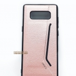 เคสหนัง Samsung Galaxy Note 8 สี Rose Gold BY ONE