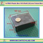 1x FB23 Plastic Box 107x76x42 (32) mm Future Box