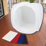 เต็นท์ สตูดิโอถ่ายภาพ แบบพกพา Portable Mini Studio tent ขนาด 80cm x 80cm (สีขาว)