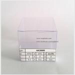 กล่อง ตลับครีม/กระปุกครีม ขนาด 2 x 2 x 2 นิ้ว หรือ 5.1 x 5.1 x 5.1 cm