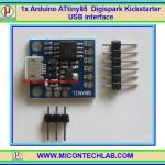 1x แผงวงจร Arduino ATtiny85 Digispark Kickstarter USB interface
