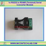 1x แผงวงจรแปลง RS232 เป็น RS485 (Terminal) Serial Converter