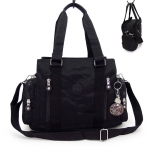 กระเป๋าถือ + สะพายไหล่ สีดำ