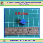 1x Trimpot 5 Kohm 25 Turns 3296 Series Potentiometer Valiable Resistor