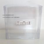 กล่องพวงมาลัย ขนาด กว้าง 8 x ยาว 8 x ลึก 3 นิ้ว หรือ กว้าง 20.3 x ยาว 20.3 x ลึก 7.6 cm