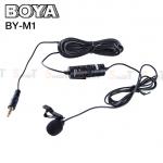 Microphone ไมค์หนีบปกเสื้อ BOYA Condenser BY-M1 Stereo