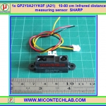1x GP2Y0A21YK0F (A21) 10-80 cm Infrared distance measuring sensor SHARP