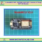 1x แผงวจร NodeMCU LUA V2 WiFi ESP8266 IOT ESP-12E V2