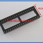 1x IC Socket DIP 40 PINS 15.24 mm PITCH 2.54mm NARROW TYPE
