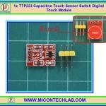 1x แผงวงจรสวิตซ์สัมผัส TTP223 แบบคาปาซิตีฟทัช (Capacitive Touch Sensor Switch)