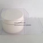 กล่อง ตลับครีม/กระปุกครีม ขนาด 6.8 x 6.8 x 4.9 cm