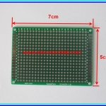 1x Prototype PCB Board 5x7 cm Green Color