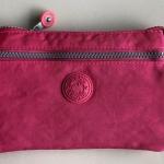 กระเป๋าสะพายข้างสายยาว สีชมพูเข้ม