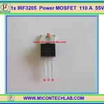 1x ไอซีเพาเวอร์มอสเฟต IRF3205 N-Channel 55V 110A 200W Power MOSFET