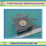 1x FB01 Plastic Box 60x65x25 mm Future Box