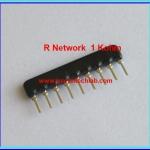 1x Resistor Network 1 Kohm 1/8W 5% R-Network 9 PIN Royal Ohm